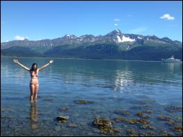 Swimming in Alaska