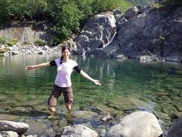 Swimming Alaska