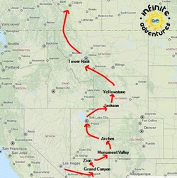 20-Day Southwest Trip