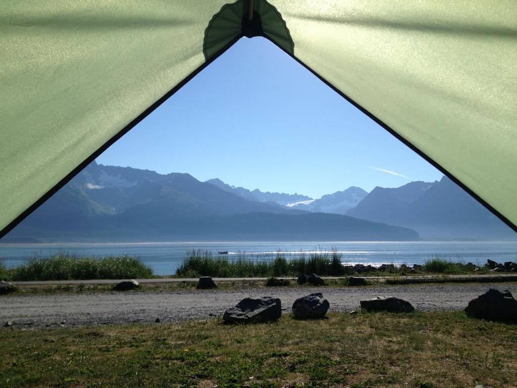 Camping Seward Alaska