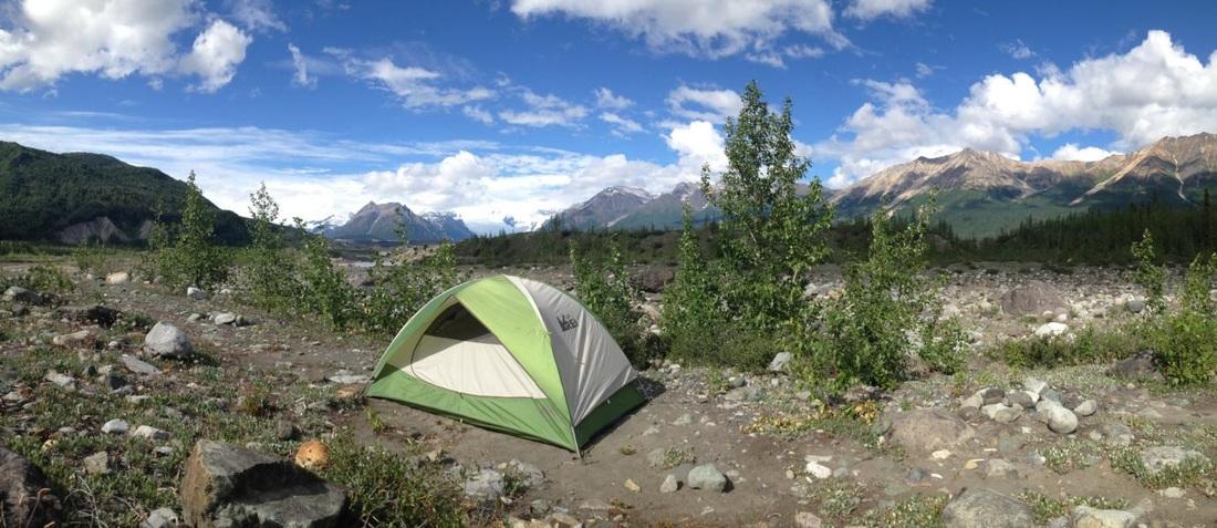 Camping Wrangell St Elias