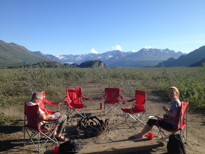 Bush Camp in Alaska