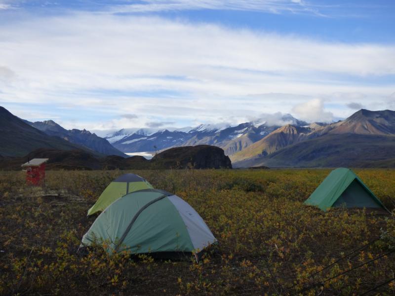 Camping Denali Highway